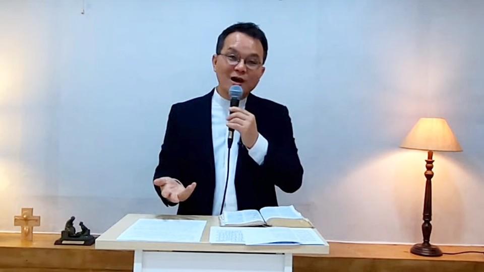 남오성 목사는 젊은 세대를 위한 새로운 목회 패러다임이 필요하다고 했다. 주날개그늘교회 영상 갈무리